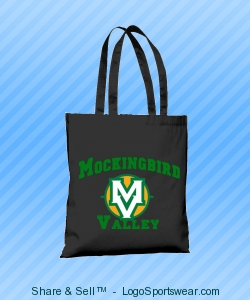 Mockingbird Valley Soccer Tote Design Zoom